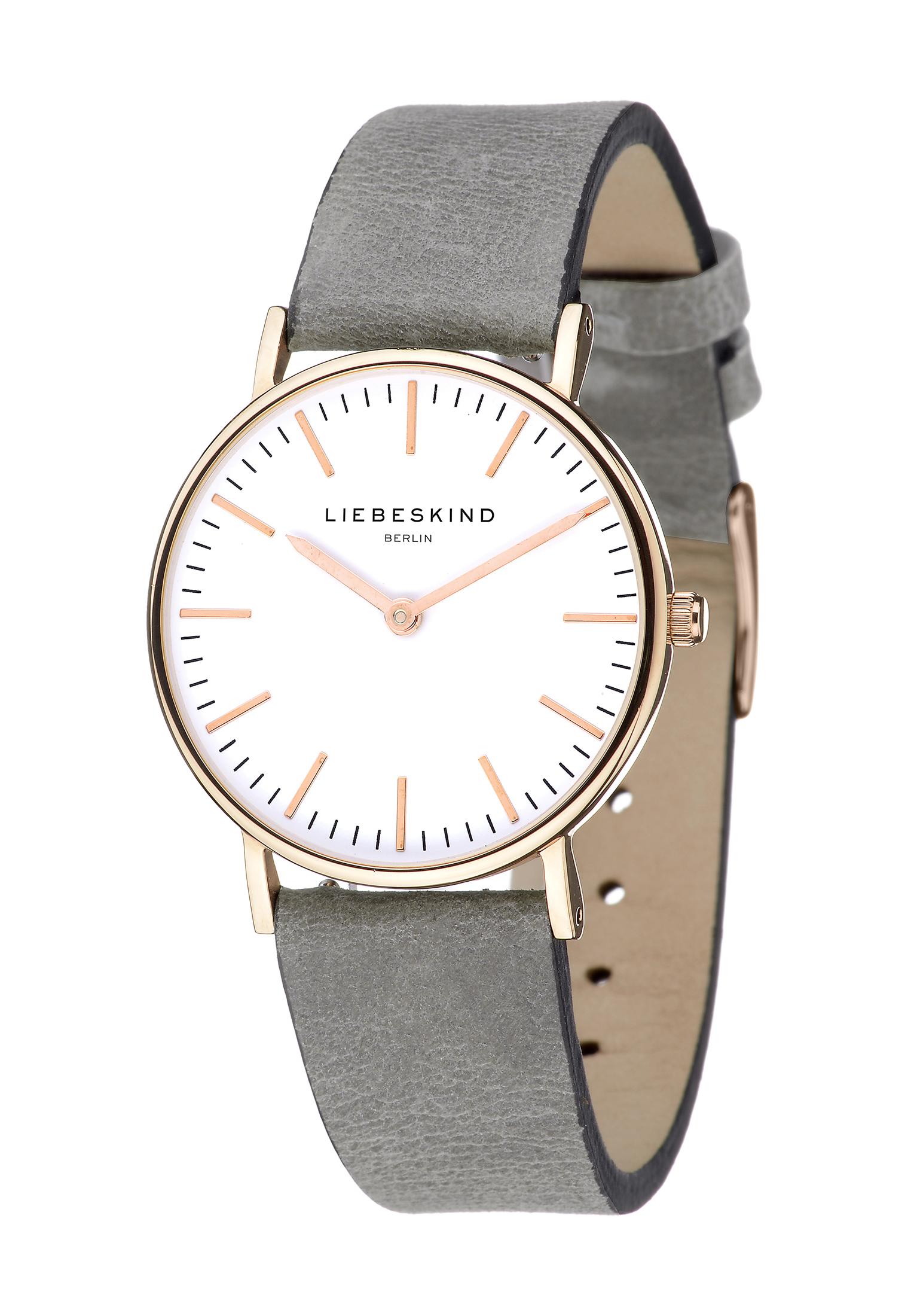 LT-0095-LQ LIEBESKIND BERLIN Armbanduhr Leder Vintage-Look