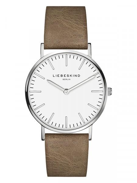 LT-0083-LQ LIEBESKIND BERLIN Armbanduhr Leder Vintage-Look, Steel 34 mm