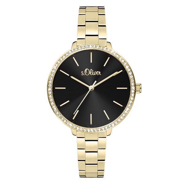 SO-4096-MQ s.Oliver Damen Edelstahlband Armbanduhr
