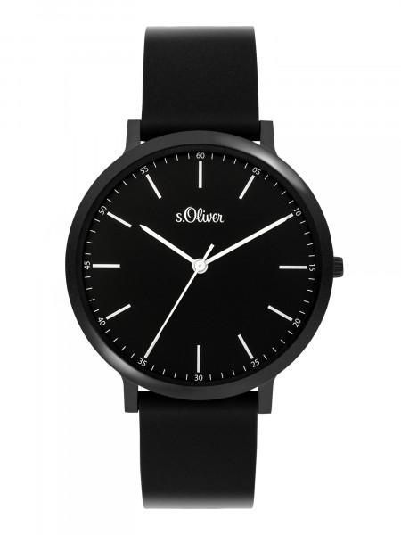 SO-3948-PQ s.Oliver Unisex Silikon Armbanduhr