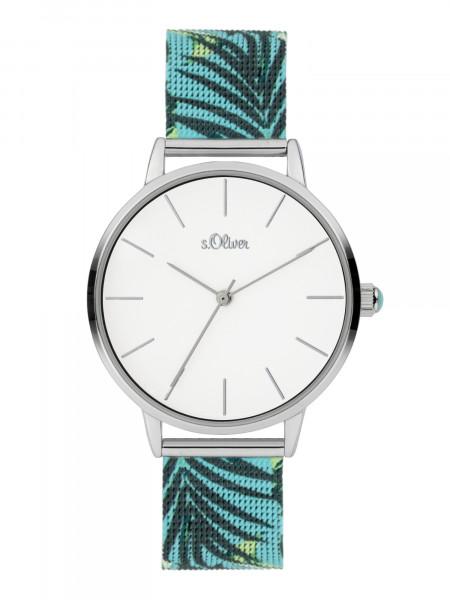 SO-3978-MQ s.Oliver Damen Milanaiseband Armbanduhr