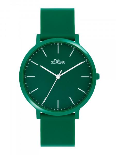 SO-4069-PQ s.Oliver Unisex Silikon Armbanduhr