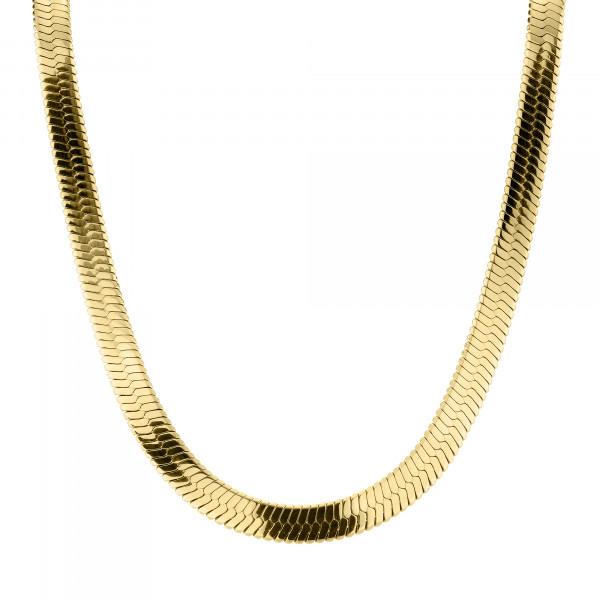 LJ-0885-N-45 LIEBESKIND BERLIN Kette, Edelstahl IP Gold