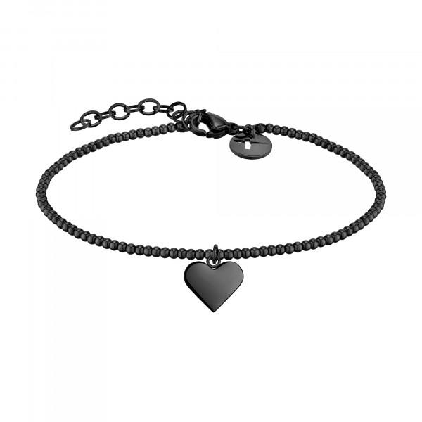 TJ-0127-B-17 Tamaris Beads Armband in Edelstahl, IP Black
