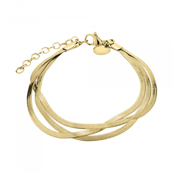 LJ-0720-B-20 LIEBESKIND BERLIN Bracelet in Edelstahl, IP Gold