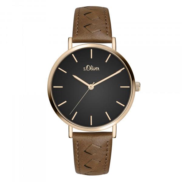 SO-3844-LQ s.Oliver Damen Armbanduhr