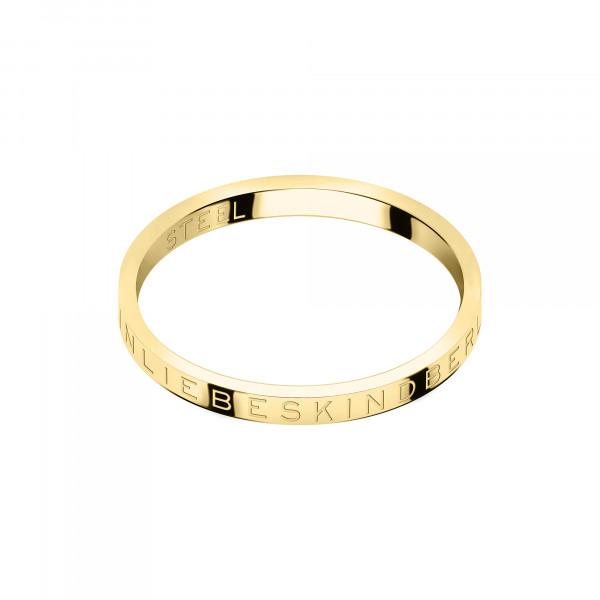 LJ-0442-R-46 LIEBESKIND BERLIN Midi- Ring Größe 46 mm in Edelstahl, IP Gold