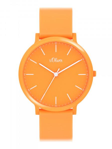 SO-4065-PQ s.Oliver Unisex Silikon Armbanduhr