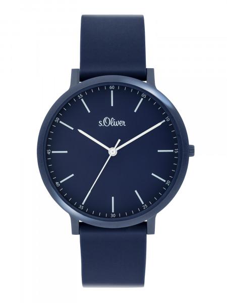 SO-3954-PQ s.Oliver Unisex Silikon Armbanduhr