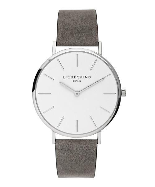 LT-0158-LQ LIEBESKIND BERLIN Armbanduhr Leder Vintage Look, 38 mm