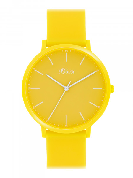 SO-4064-PQ s.Oliver Unisex Silikon Armbanduhr