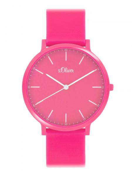 SO-4067-PQ s.Oliver Unisex Silikon Armbanduhr