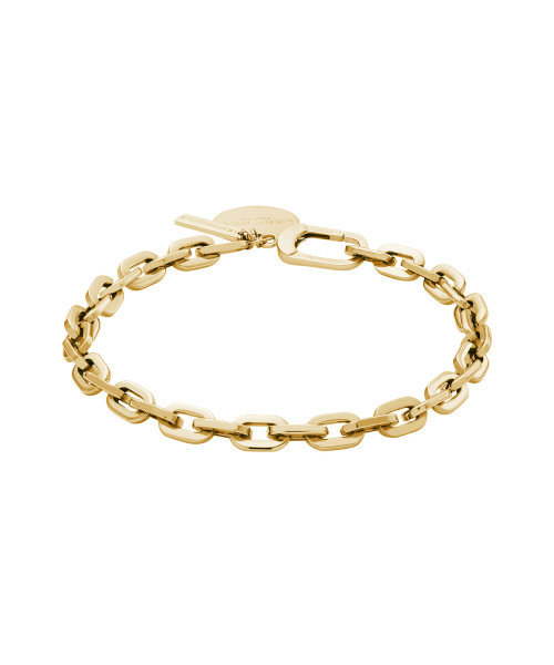 LJ-0417-B-21 LIEBESKIND BERLIN Bracelet in Edelstahl, IP Gold