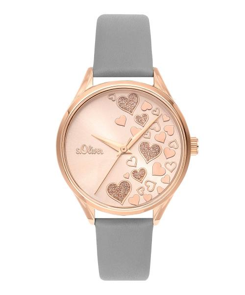 SO-3600-LQ s.Oliver Damen Edelstahl Armbanduhr