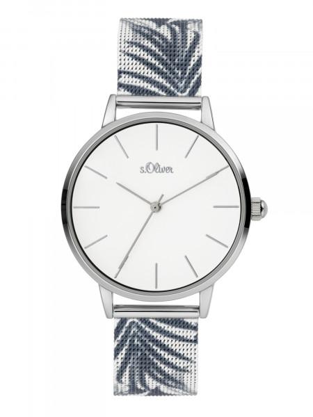 SO-3977-MQ s.Oliver Damen Milanaiseband Armbanduhr
