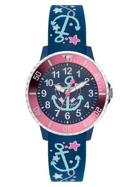 SO-3497-PQ s.Oliver Kinder Anker Armbanduhr