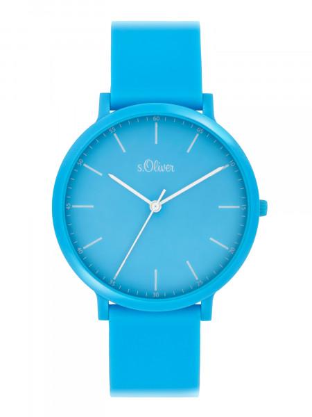 SO-4071-PQ s.Oliver Unisex Silikon Armbanduhr