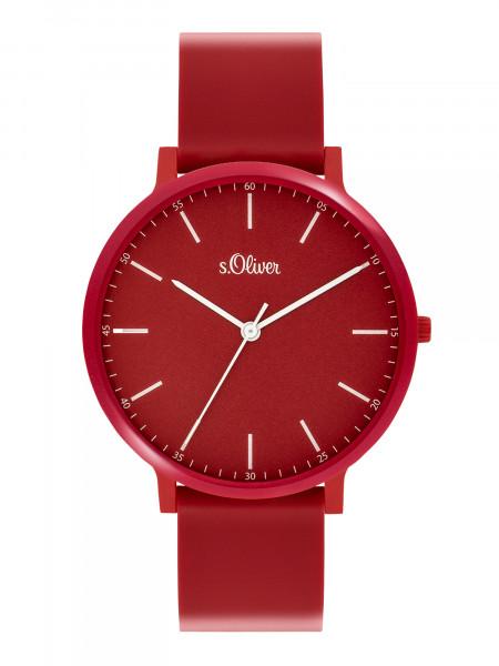 SO-3953-PQ s.Oliver Unisex Silikon Armbanduhr