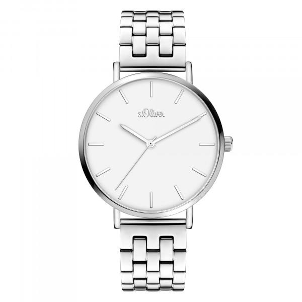 SO-3965-MQ - s.Oliver Damen-Armbanduhr