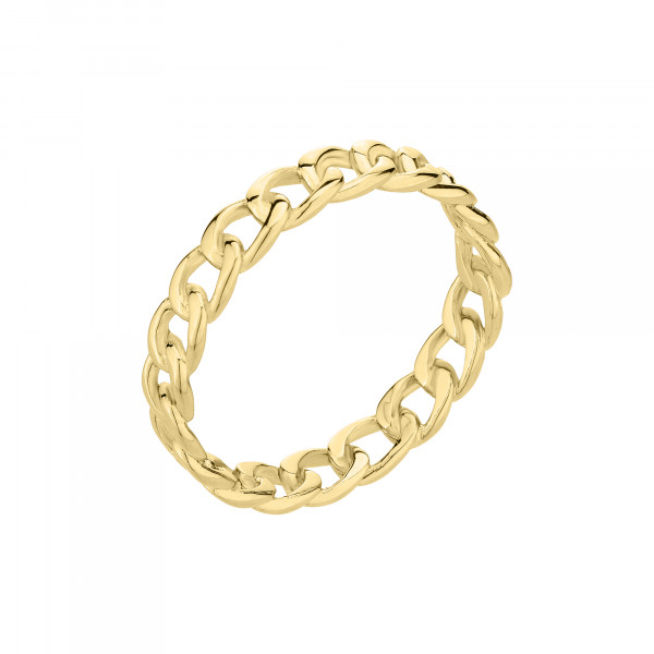 LJ-0680-R-52 LIEBESKIND BERLIN Ring, Edelstahl, IP Gold