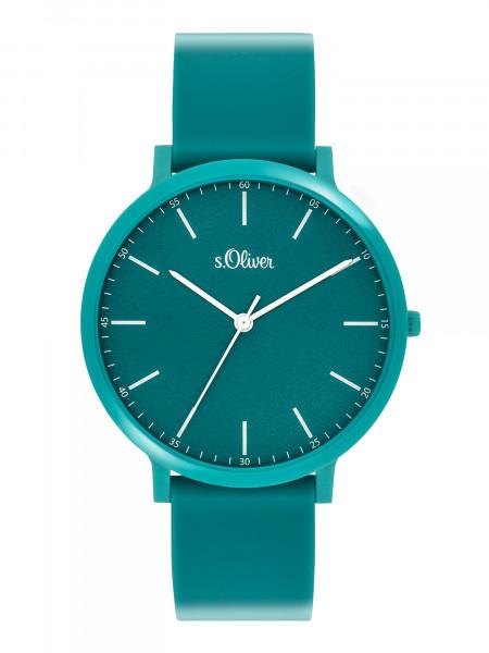 SO-3949-PQ s.Oliver Unisex Silikon Armbanduhr