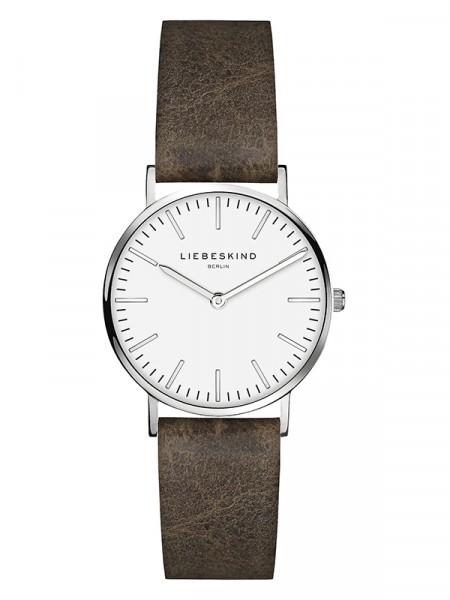 LT-0090-LQ LIEBESKIND BERLIN Armbanduhr Leder Vintage-Look, Steel 30 mm