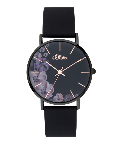SO-3708-PQ s.Oliver Damen Armbanduhr