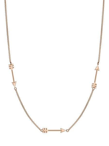 LJ-0188-N-45 Liebeskind Berlin Arrow Kette IP Roségold