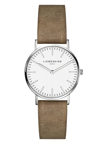 LT-0087-LQ LIEBESKIND BERLIN Armbanduhr Leder Vintage-Look, Steel 30 mm