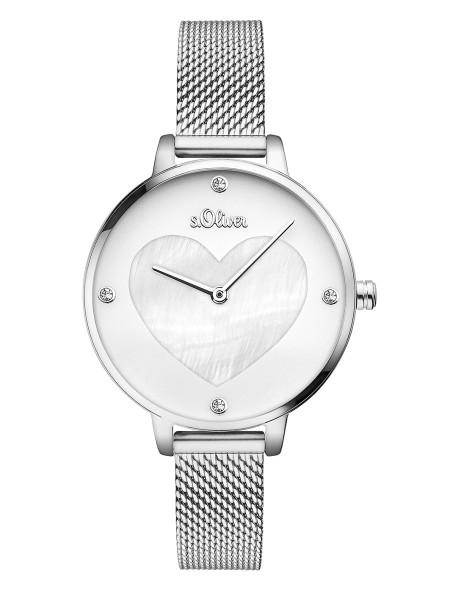 SO-3472-MQ s.Oliver Damen Mesh Armbanduhr