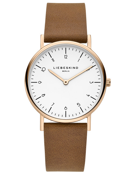 LT-0168-LQ LIEBESKIND BERLIN Leder Armbanduhr, 34 mm