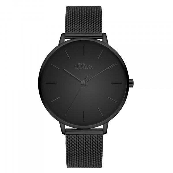 SO-3803-MQ s.Oliver Damen Edelstahl Milanaise Armbanduhr