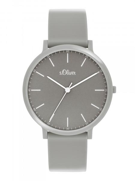 SO-3956-PQ s.Oliver Unisex Silikon Armbanduhr