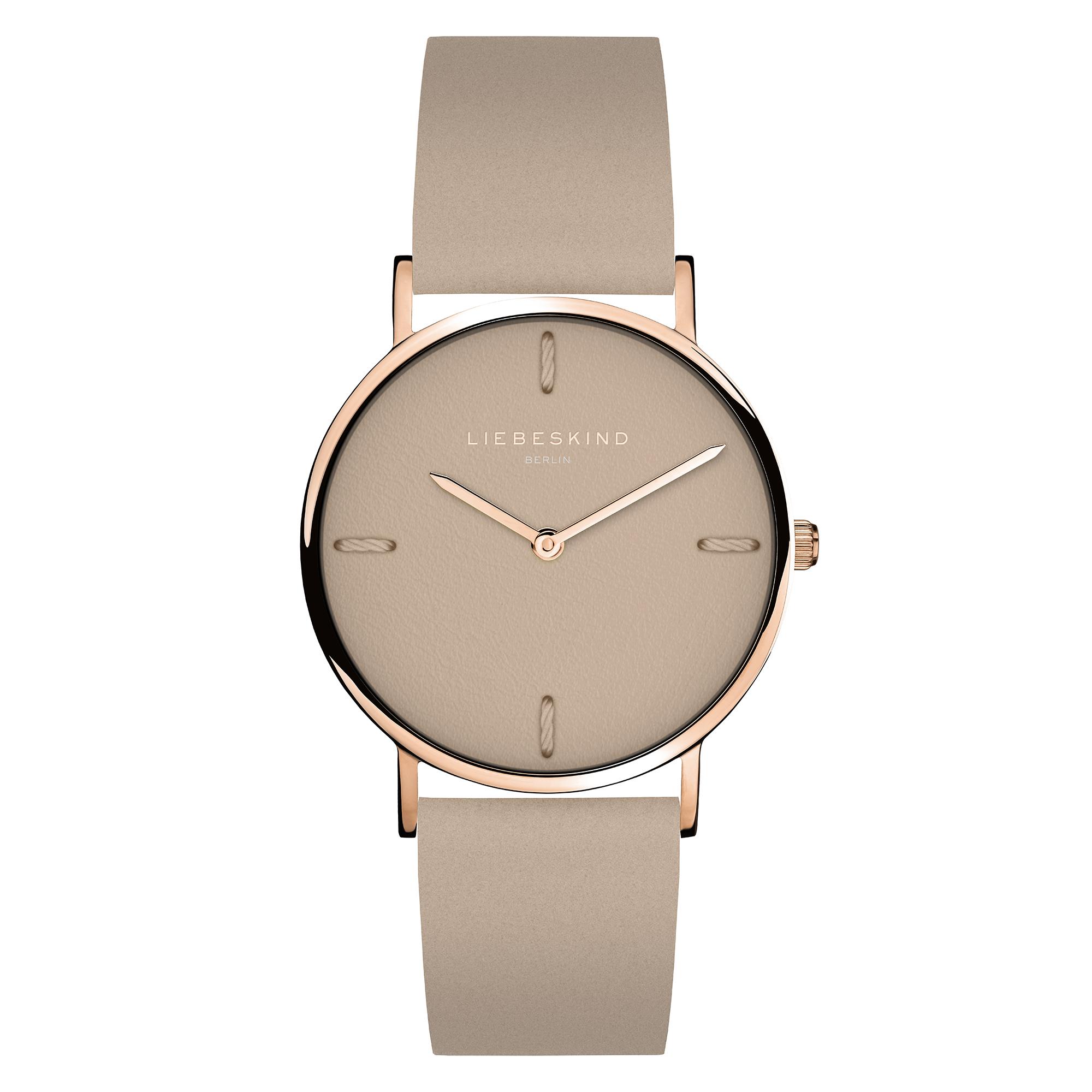LT-0167-LQ Damenuhr LIEBESKIND BERLIN Leder Armbanduhr, 34