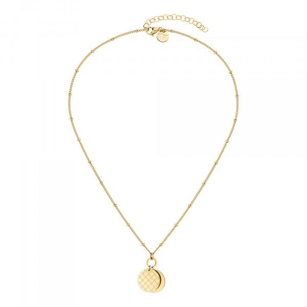TJ-0047-N-45 Tamaris Halskette, Edelstahl IP Gold