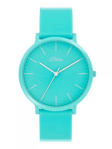 SO-4068-PQ s.Oliver Unisex Silikon Armbanduhr