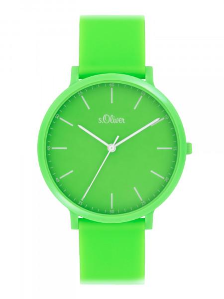 SO-4070-PQ s.Oliver Unisex Silikon Armbanduhr