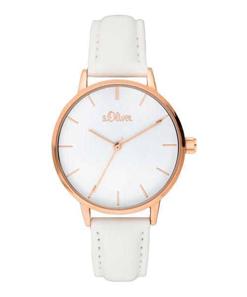 SO-3644-LQ s.Oliver Damen Edelstahl Armbanduhr
