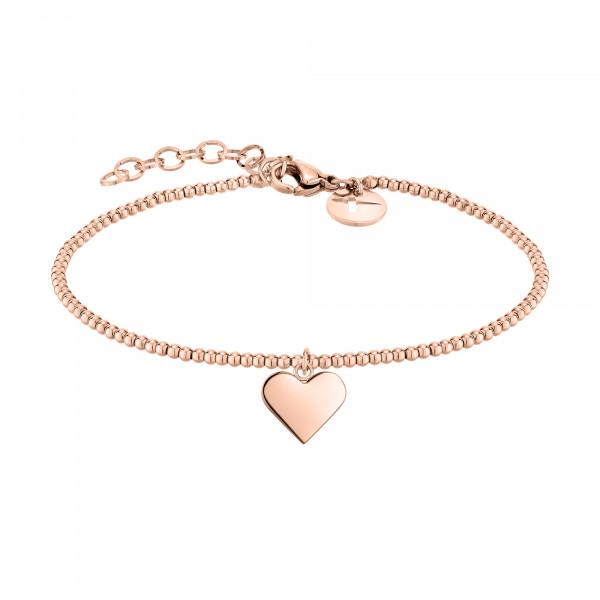 TJ-0045-B-17 Tamaris Beads-Armband, Edelstahl IP Roségold