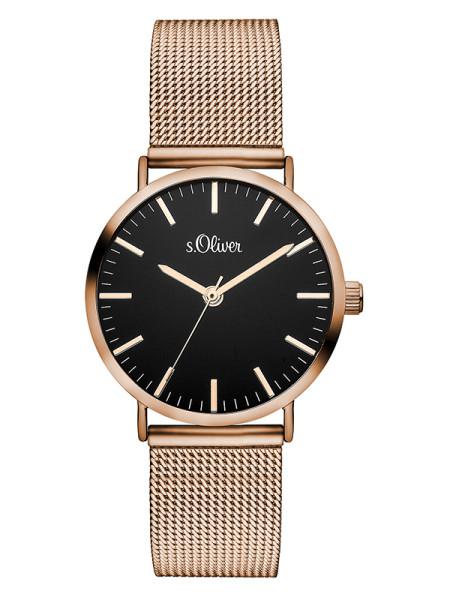SO-3330-MQ s.Oliver Damen Mesh Armbanduhr
