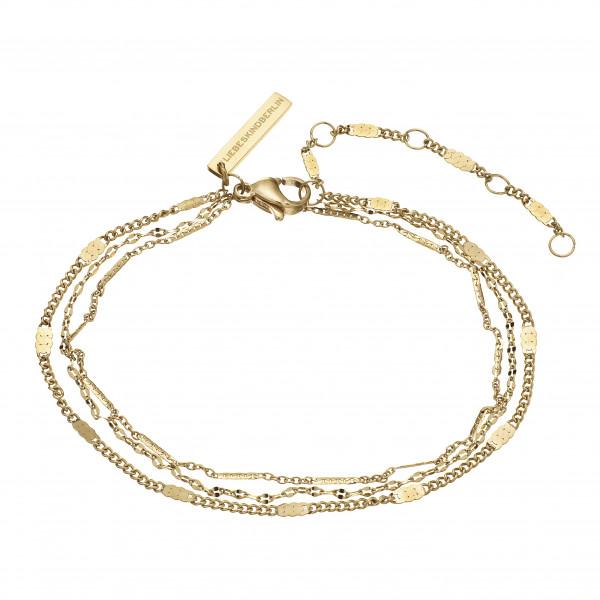 LJ-0634-B-22 LIEBESKIND BERLIN Armband in Edelstahl IP Gold