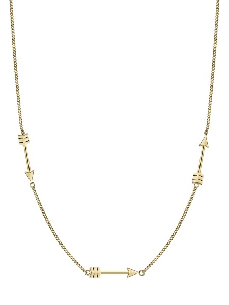 LJ-0187-N-45 Liebeskind Berlin Arrow Kette IP Gold