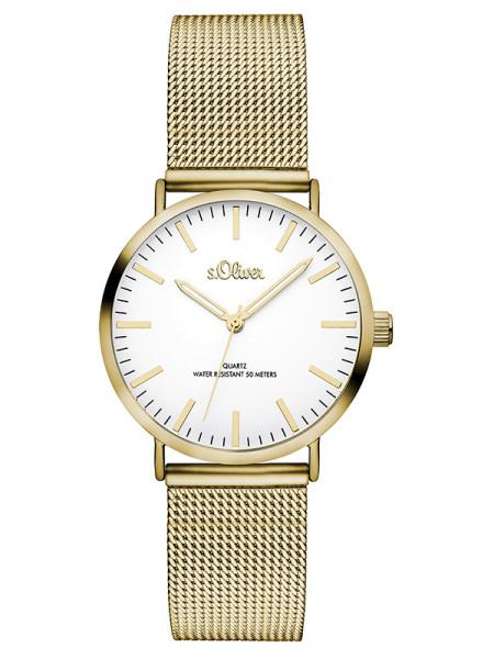 SO-3271-MQ s.Oliver Damen Mesh Armbanduhr