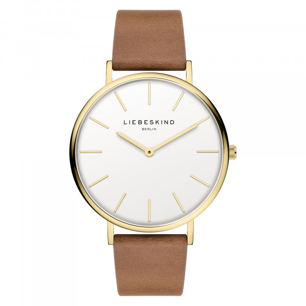 LT-0266-LQ LIEBESKIND BERLIN Armbanduhr IP Gold
